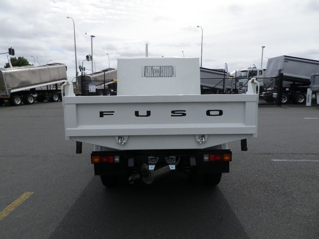 2018 FUSO CANTER 616 FACTORY TIPPER