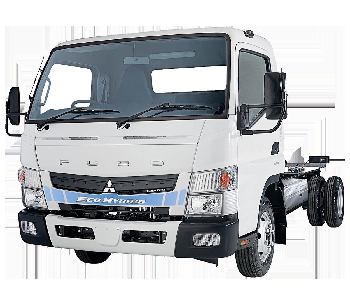 Fuso Canter Eco Hybrid Trucks - Hybrid Light Trucks | Fuso ...
