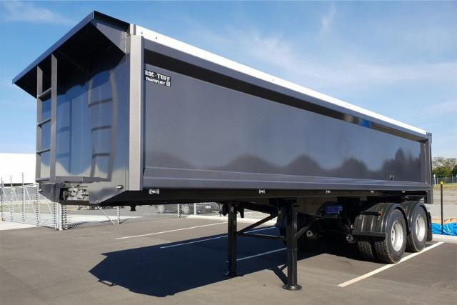 TRANSFLEET TIPULATOR STEEL SEMI TRAILER 2020