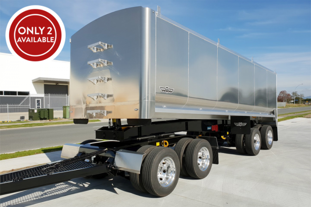 T&G 4 AXLE ALLOY TRAILER 2020